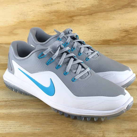 cheap for discount 372c0 34e50 Nike Lunar Control Vapor 2 Grey White Golf Shoes